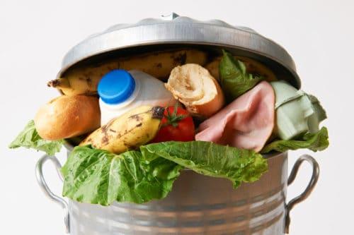 Gaspillage alimentaire - Nourriture à la poubelle