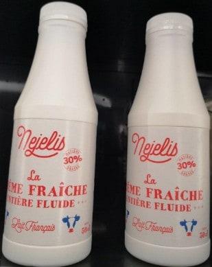 Crème fraîche entière fluide