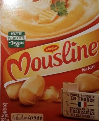 Mousline  4 sachets de 4 assiettes  - Maggi - 520 g  4   130 g