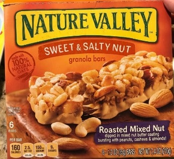 Nature Valley Sweet  amp; Salty Nut Roasted Mix Nut Granola Bars