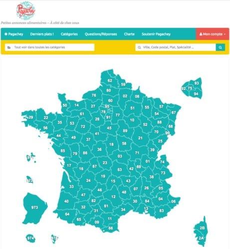 Pagachey est présent dans toute la France
