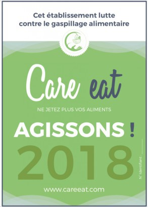 Label Care Eat anti-gaspi alimentaire