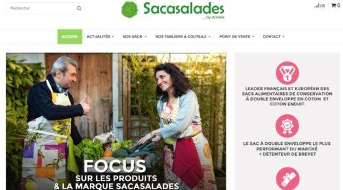 Les produits en coton Sacasalades sont parfaits pour conserver et transporter vos aliments