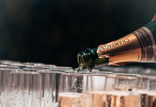 Une belle bouteille de champagne pour les fêtes