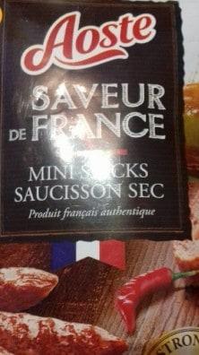 mini stick saucisson sec