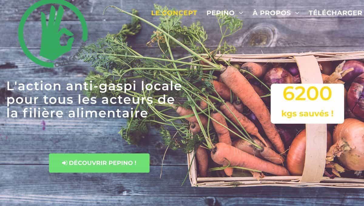 Oui!Greens propose Pepino pour sauver les fruits et légumes moches du gaspillage
