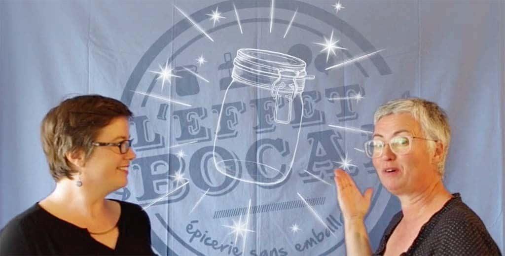 Maryse et Mathilde, fondatrices de L'Effet Bocal