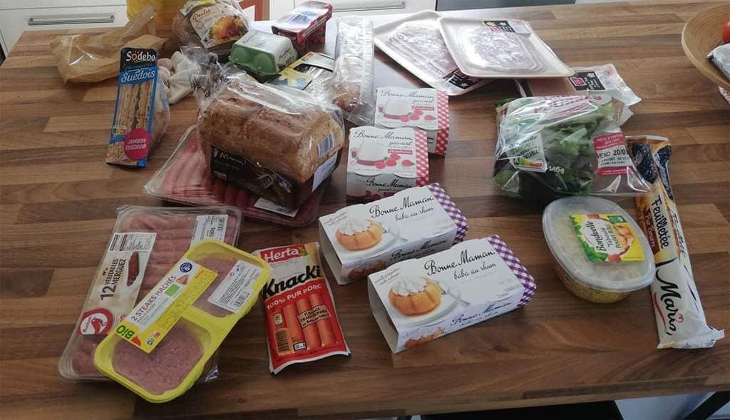 Des produits alimentaires pour vos placards et frigos... Ne les y oubliez pas !