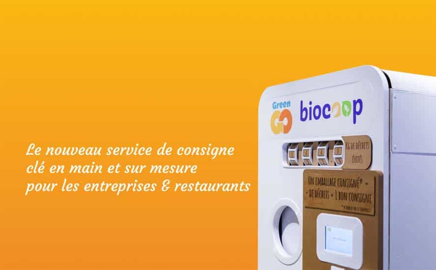 GreenGo - Consigne clé en main pour entreprises et restaurants