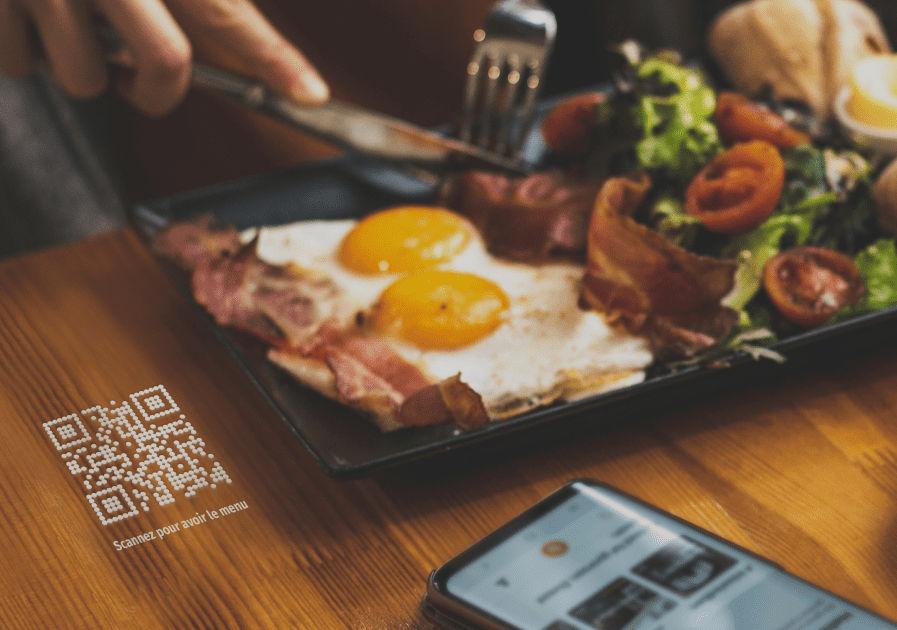 L'outil Bonjour Menu offre une carte sans contact aux clients de votre restaurant