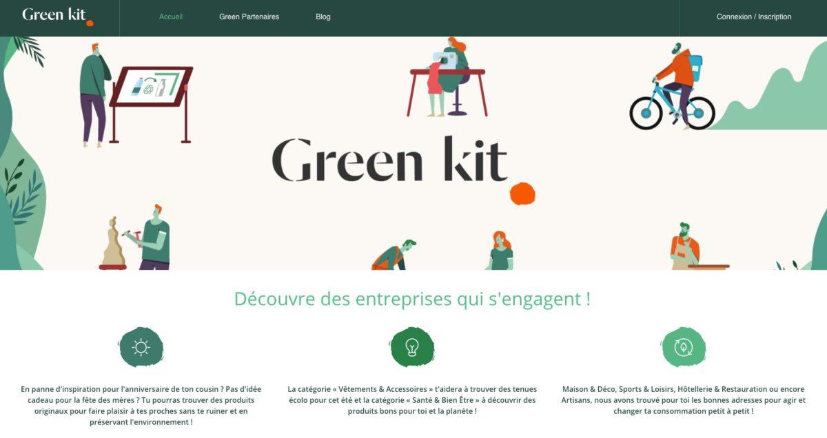 GreenKit, un annuaire écoresponsable