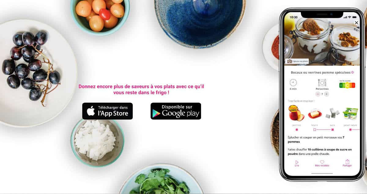 L'application iOS et Android pour des recettes anti-gaspi