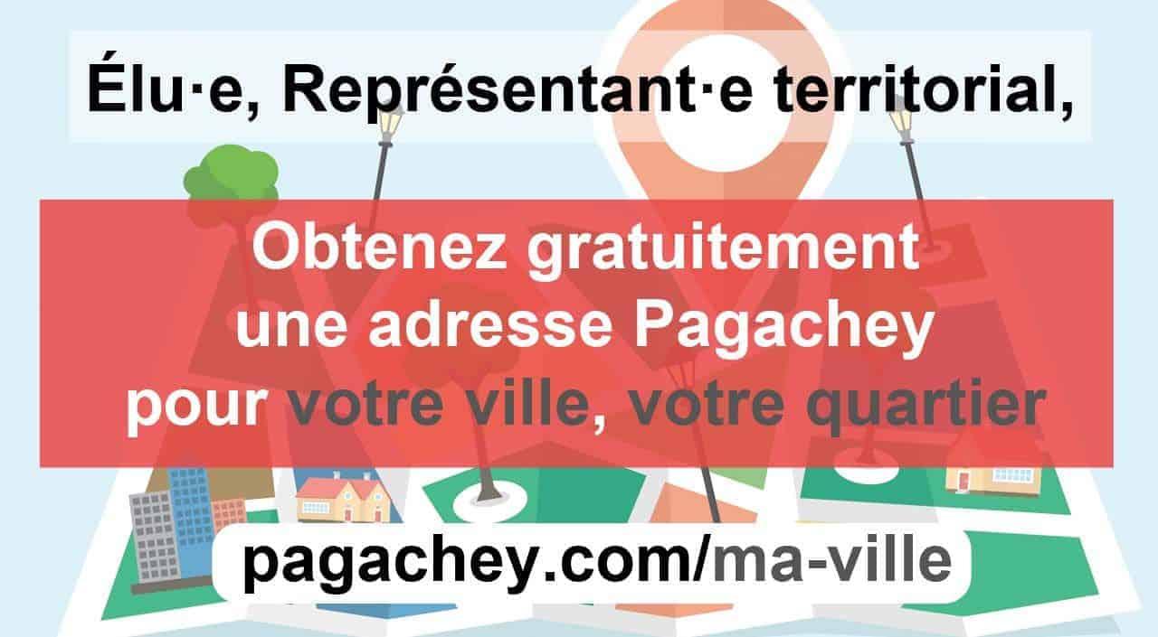Obtenir une adresse et sa page locale Pagachey