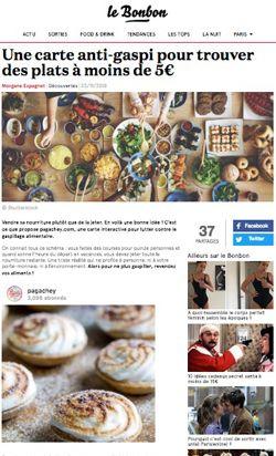 Article du site Le Bonbon sur Pagachey
